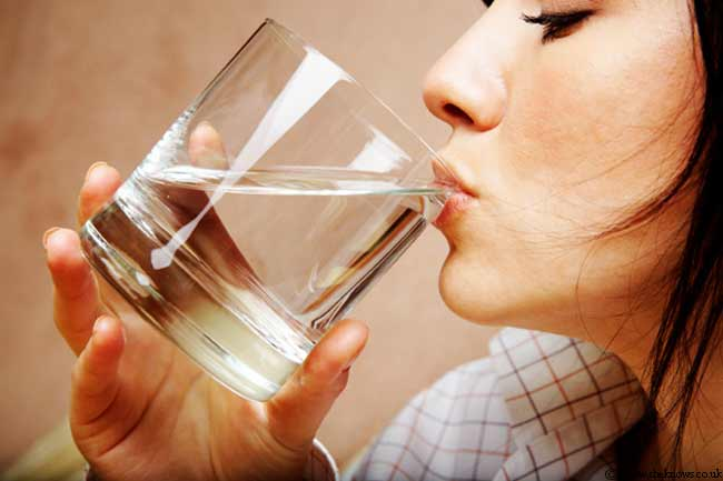 Flush out Toxins with Water
