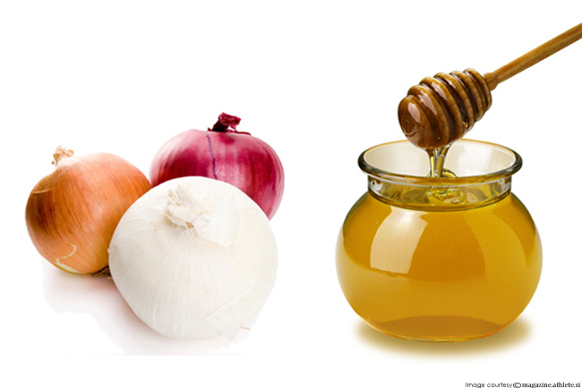 Onion and Honey are not just for Eating