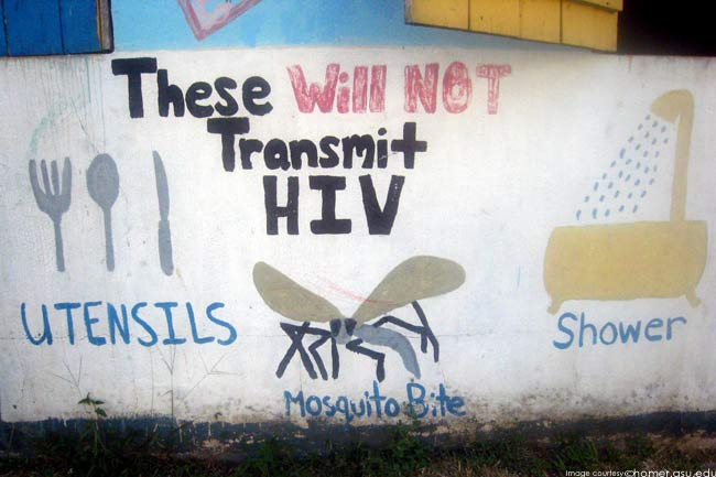 Transmission of HIV and AIDS