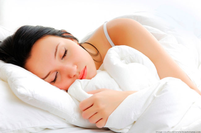 Get adequate sleep
