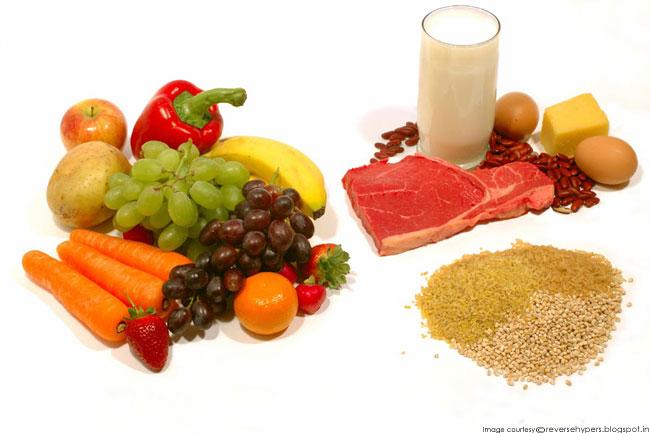 संयमित आहार खायें