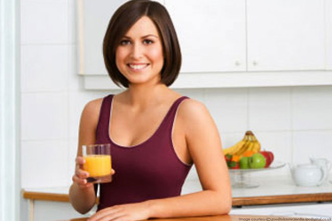 Have Water or Vegetable Juice before Meals
