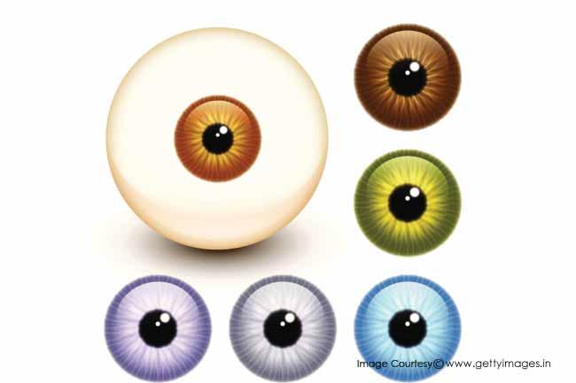 आंखों का रंग