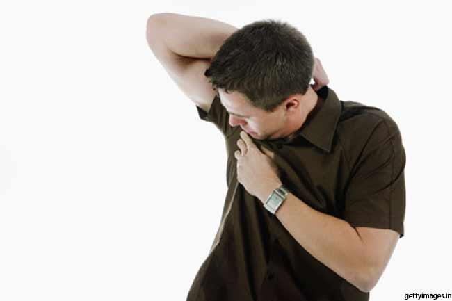 आहार से पसीने की गंध का संबंध