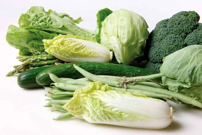 हरी पत्तेदार सब्जी