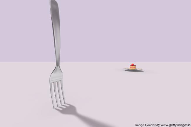 पर्याप्त भोजन की कमी