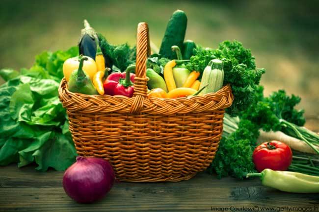 रेशेदार सब्जियां