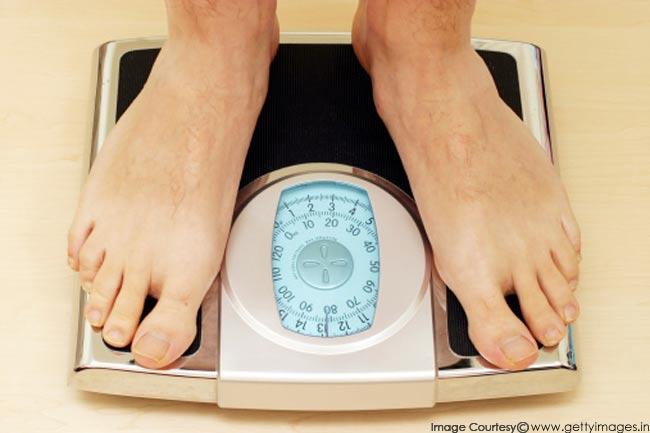 वजन कम करना