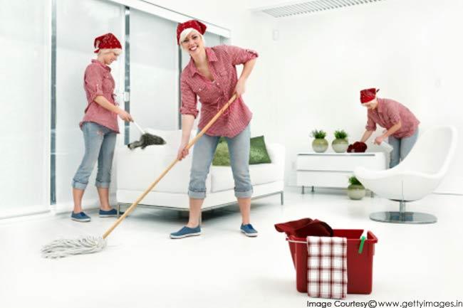 घर की साफ सफाई