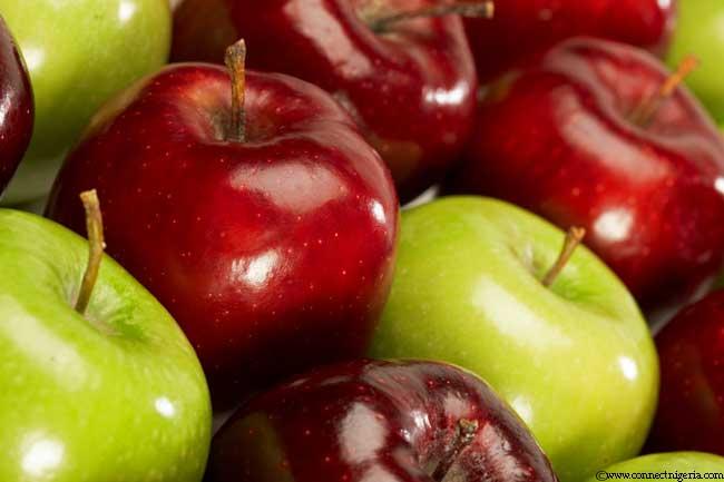सेब के गुण
