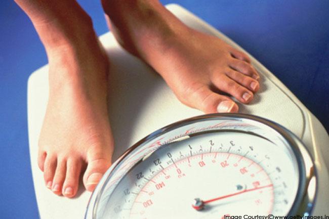 वजन पर करें काबू