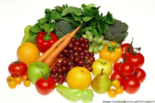 फल और सब्जियां हैं पोषण से भरपूर