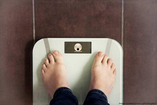 वजन में कमी