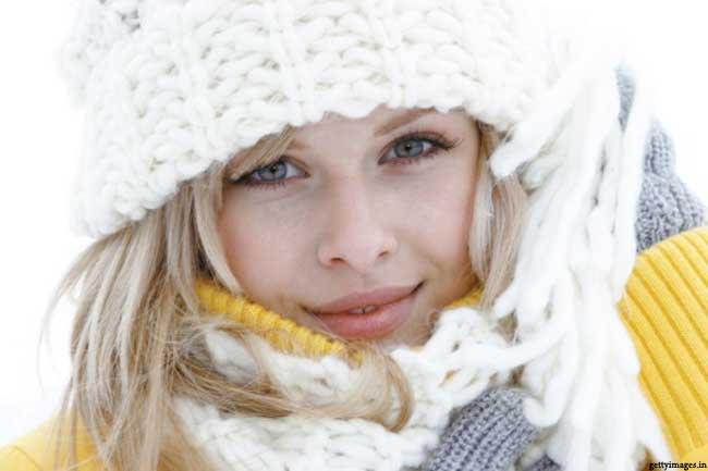 सर्दियों में सूखी त्वचा की देखभाल