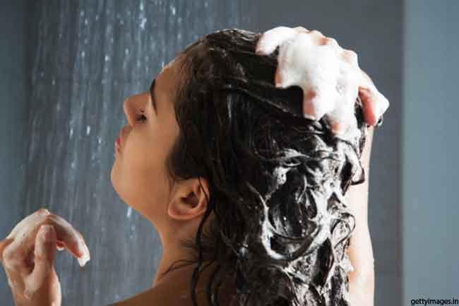 बालों की सफाई