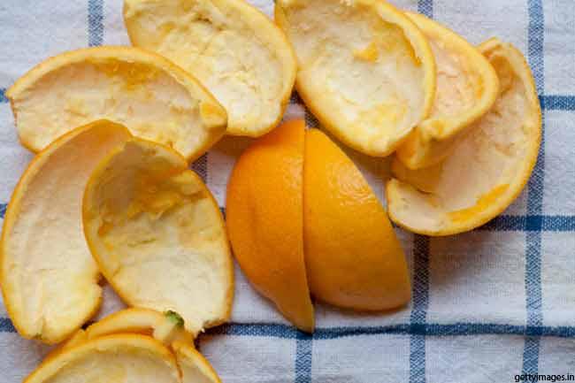 संतरे के छिलकों का चमत्कार