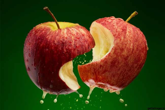 सेब का त्वचा पर जादू