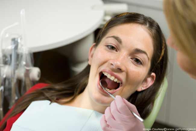 दांतों में बदलाव