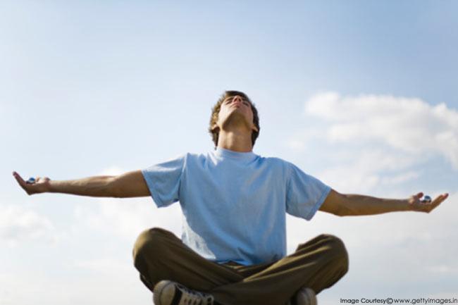 गहरी सांस लेना