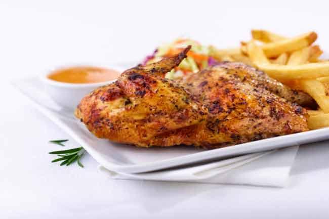 चिकन और मटन