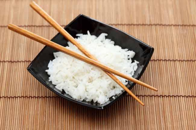 सफेद चावल