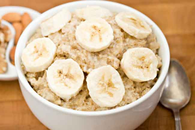 Banana and Oat Meal