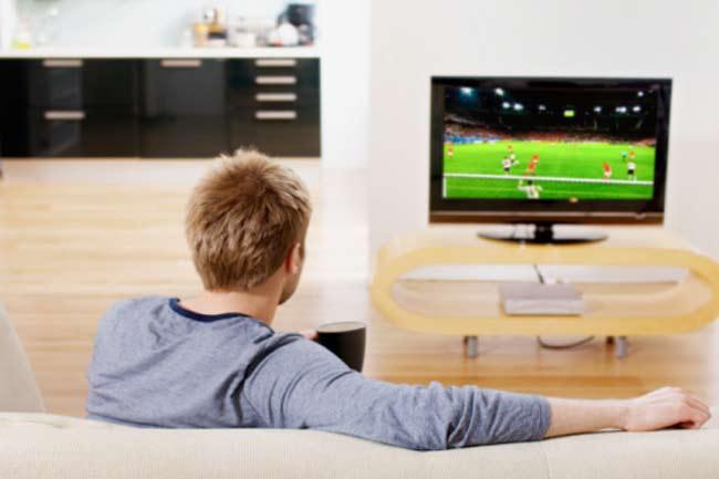 टीवी देखना