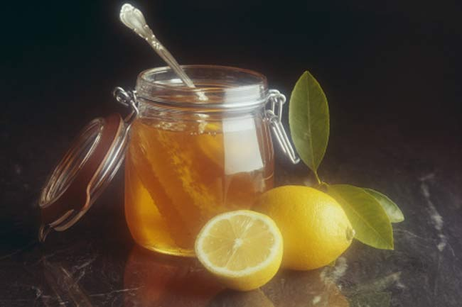 Honey and Lemon Juice Pack
