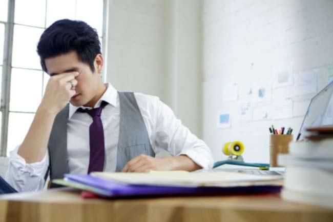 तनाव ग्रस्त होना