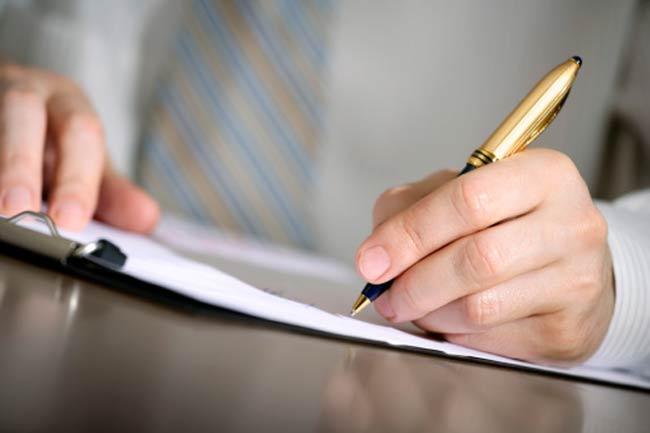 अपने विचार के बारे में लिखें