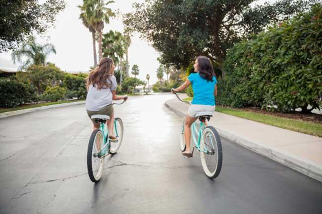 साइकिल चलाएं