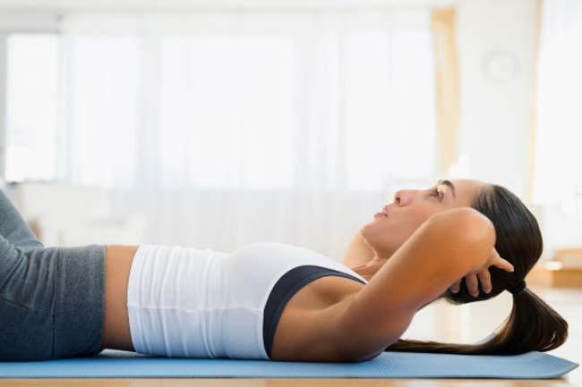 दस मिनट के व्यायाम करें