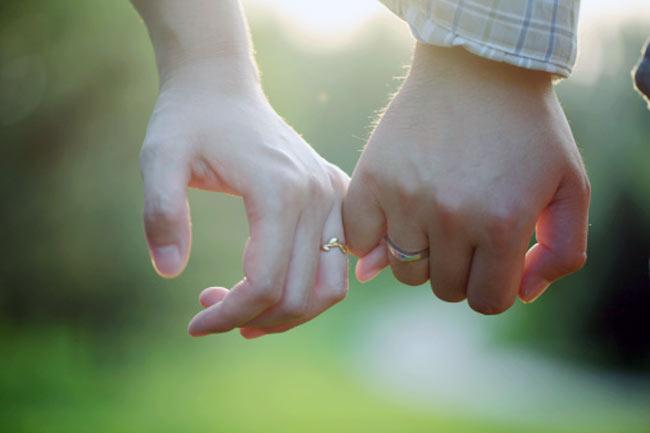 प्यार भरा स्पर्श