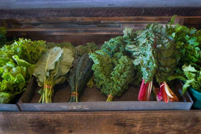 हरी पत्तेदार सब्जियां