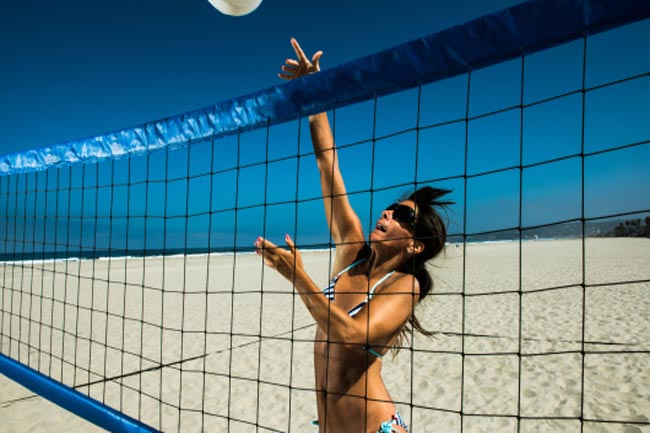 He is a Beach Volleyball Enthusiast