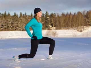 Ways to steer clear of a winter-workout rut