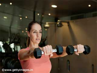 Shoulder Exercises- Front raise