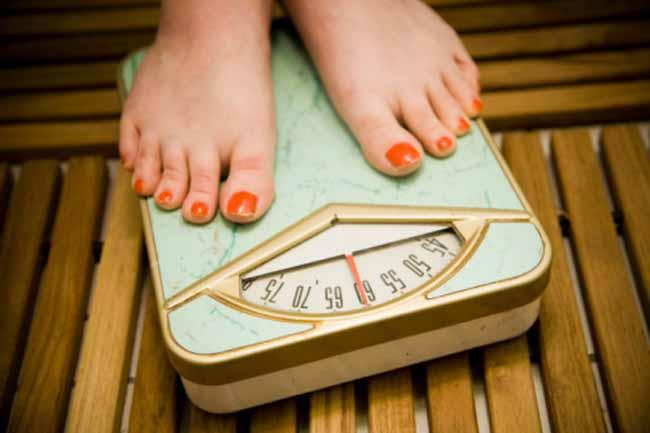 वजन कम न होना