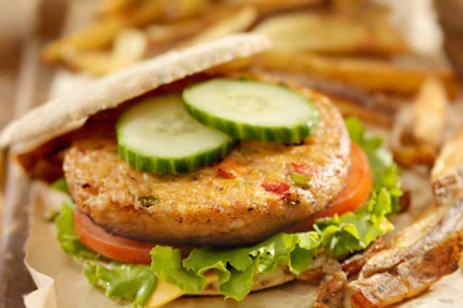 Diet Veggie Burgers