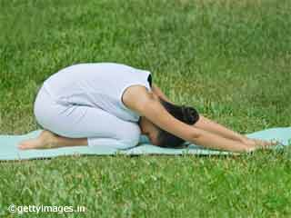 Childs Pose Yoga During Pregnancy