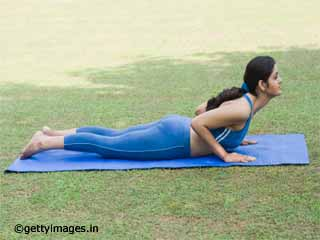 Bhujangasana asanas - yoga for managing diabetes