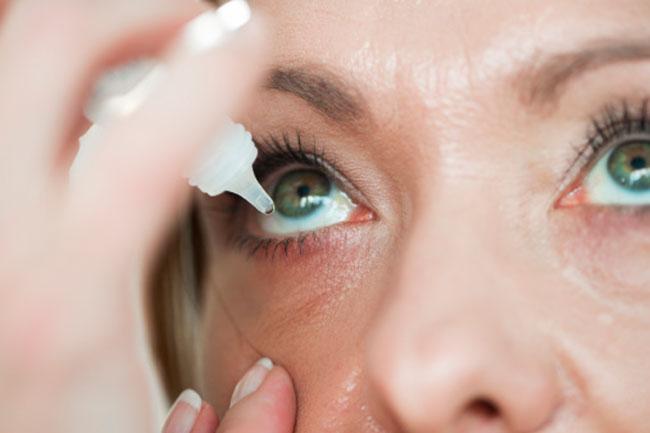 Try Using Eye Drops
