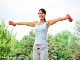 कंधों का व्यायाम-लेटरल रेज़