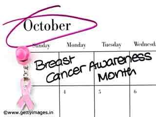 अक्टूबर 2010.. स्तन कैंसर जागरूकता माह