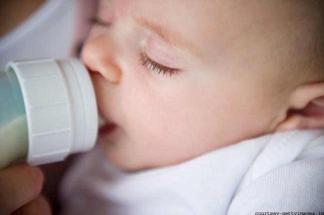 दूध पिलाते वक्त