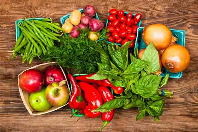 Fibrous Vegetables Diet