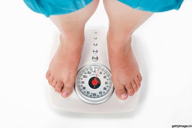 वजन घटाने के लिए