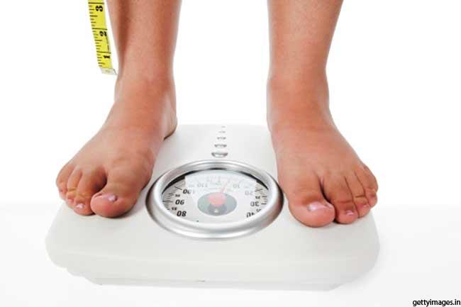 वजन कम करने के लिए
