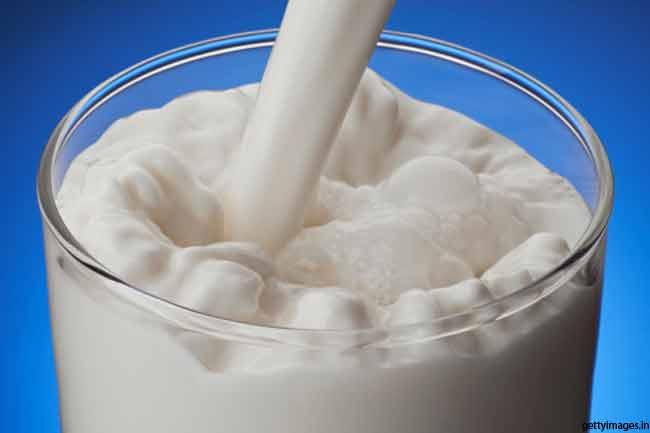 दूध का सेवन