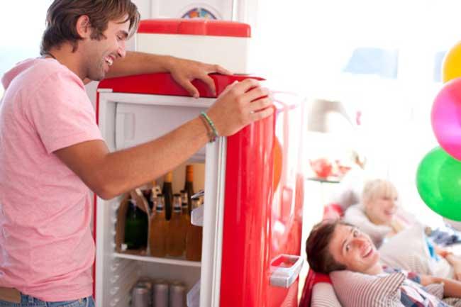 फ्रिज का तापमान सही रखें